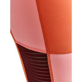 Craft ADV Charge Shiny Tights Women, oranje/rood